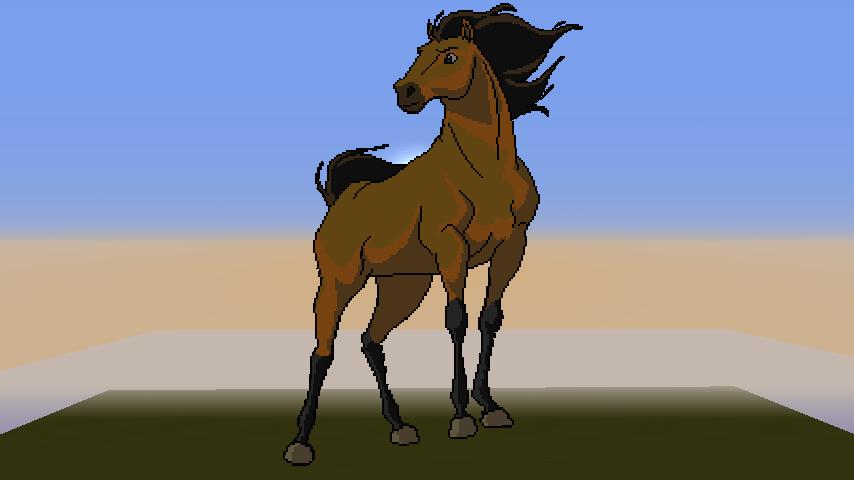 Spirit Pixel Art By Lucario84 On Deviantart