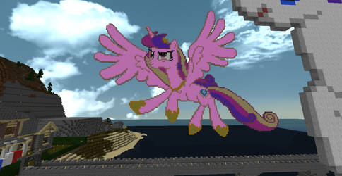 princess Cadance pixel art by lucario84