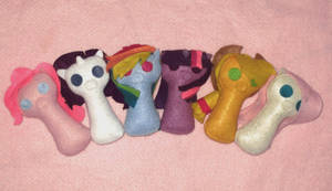 My Little Pony Keyhole Plushies
