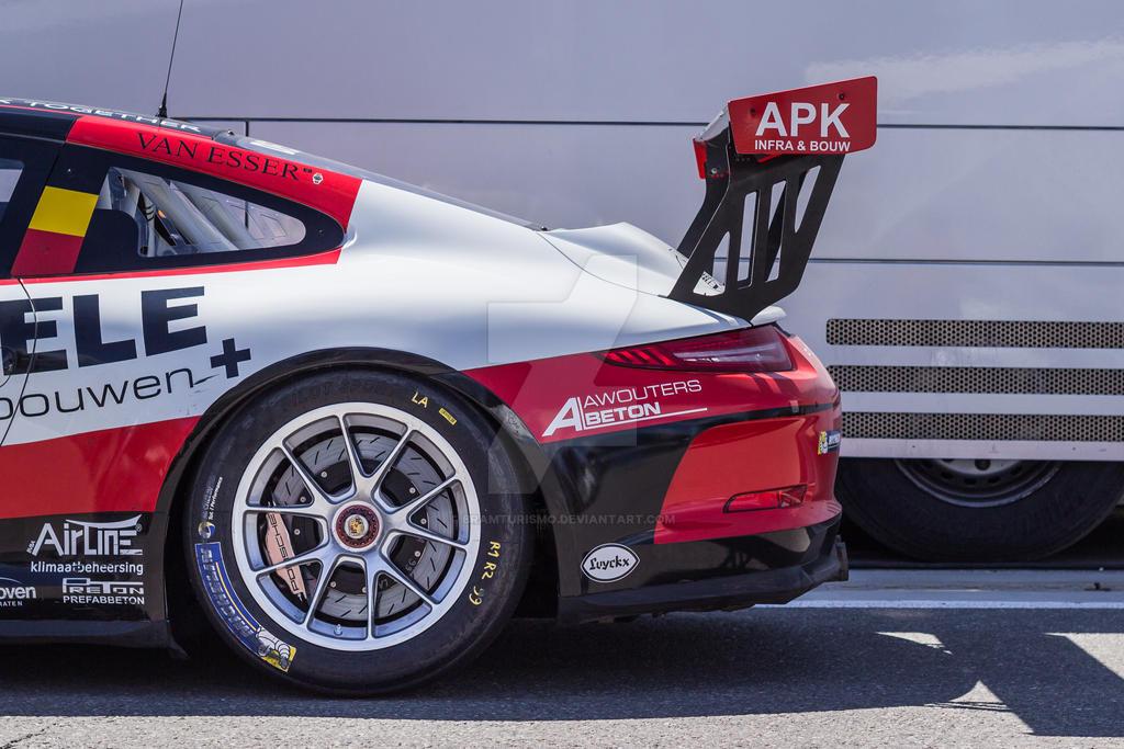 99 Belgium Racing Porsche 911 Gt3 Cup Race Car By Bramturismo On