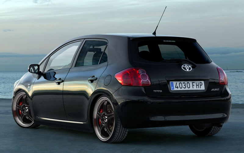 toyota auris sport by bramturismo on deviantart. Black Bedroom Furniture Sets. Home Design Ideas