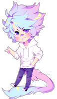 [Style-B Chibi Commission: Oujikyuu] Okae by Neon-Hazard