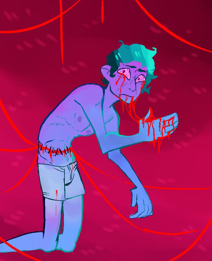 Sickness by KailynPunkPanda