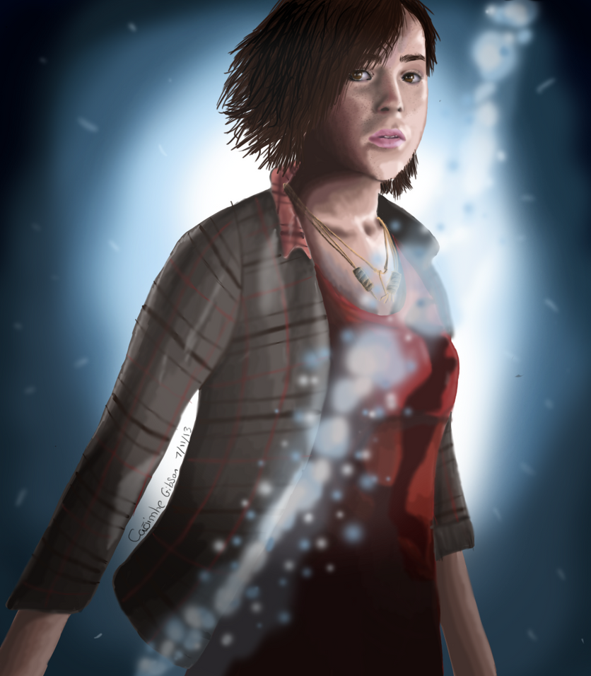:FA: Beyond :Two souls by WithoutRegretx