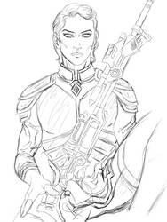 Cypher Agent Shaido'nati'enkha (WIP) by Mahe-Svara