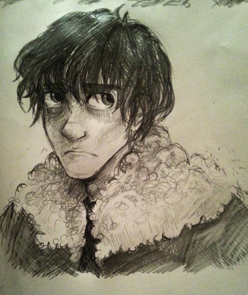 Nico sketch by Dreamsoffools