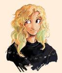 Annabeth in a christmas Jumper