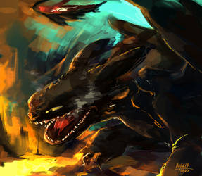 Wow is that another Toothless?? by Dreamsoffools