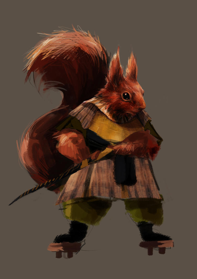 Squizzel Lad by Dreamsoffools
