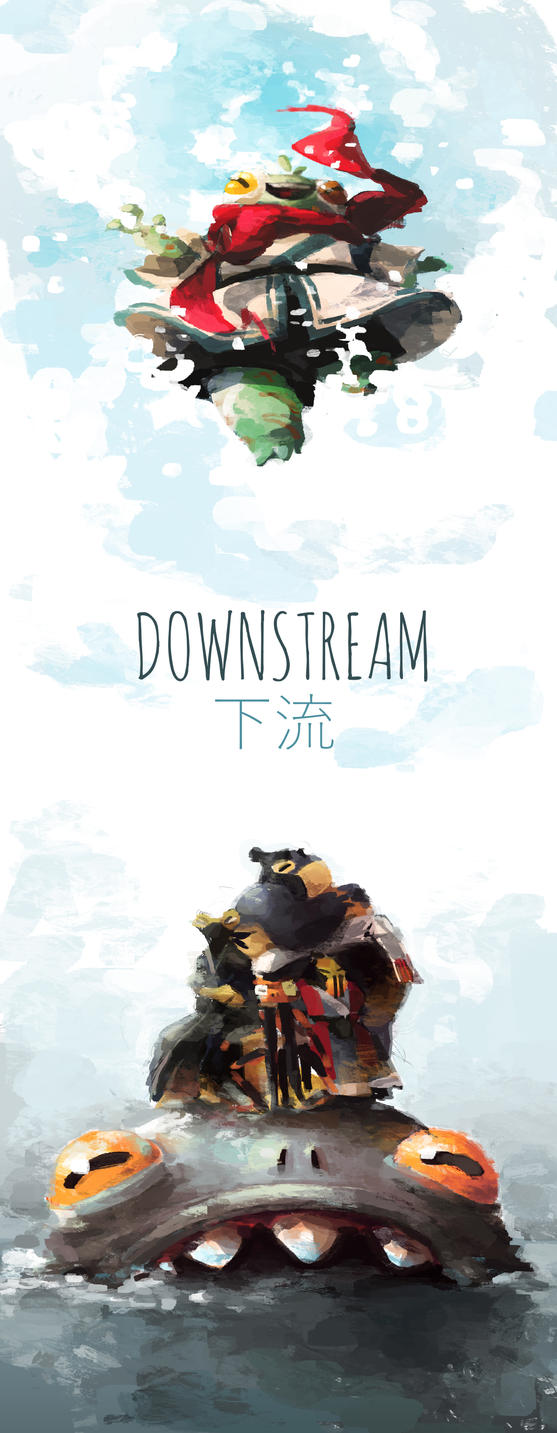 Downstream by Dreamsoffools