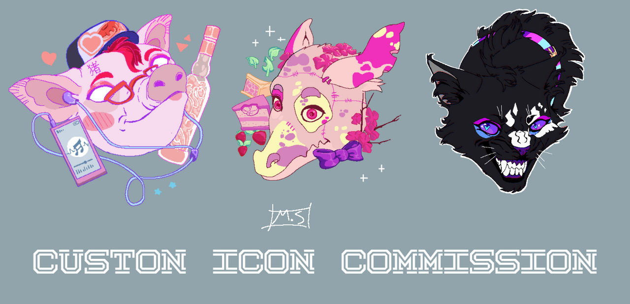 Icon Commission Info(read the rules)