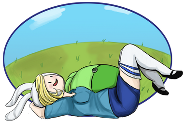 Lounging Fionna by liekomgkristy