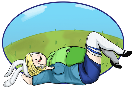 Lounging Fionna