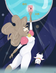 Bee and Puppycat: Crystal by liekomgkristy