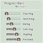 Progress Bars for Niaro by Oceannist