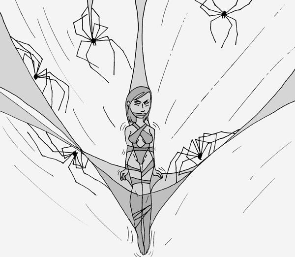 Web Of Nylon by PennDreadful