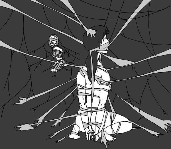 Spider's Shibari by PennDreadful