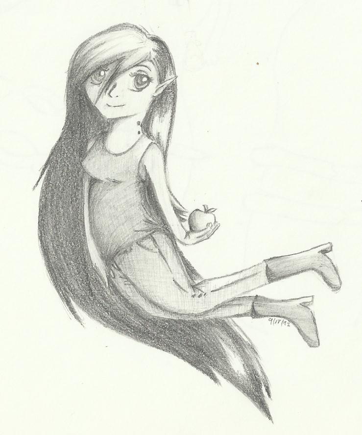 Marceline vampire queen by xxMidna29
