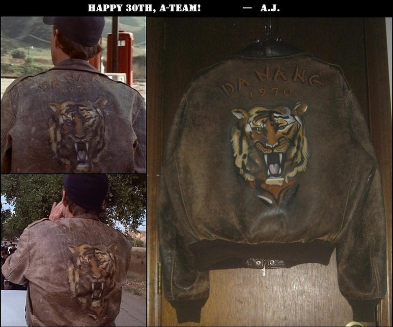 A.J.'s H.M. Murdock Jacket 74 - Antler Master by AJHoward