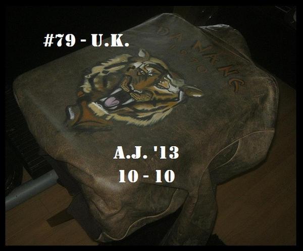 A.J.'s #79 - U.K. by AJHoward