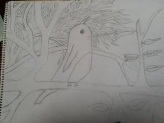An Unfinished Humming Bird by DarkSupernaturalGirl