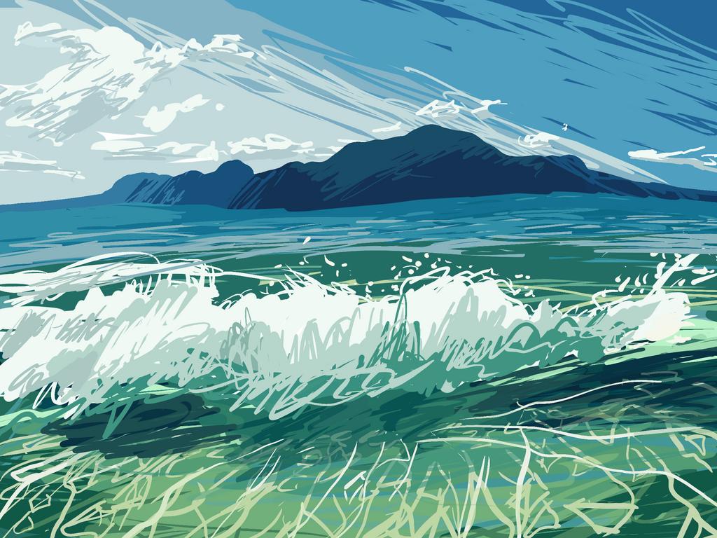 Ocean by ferretlivvie