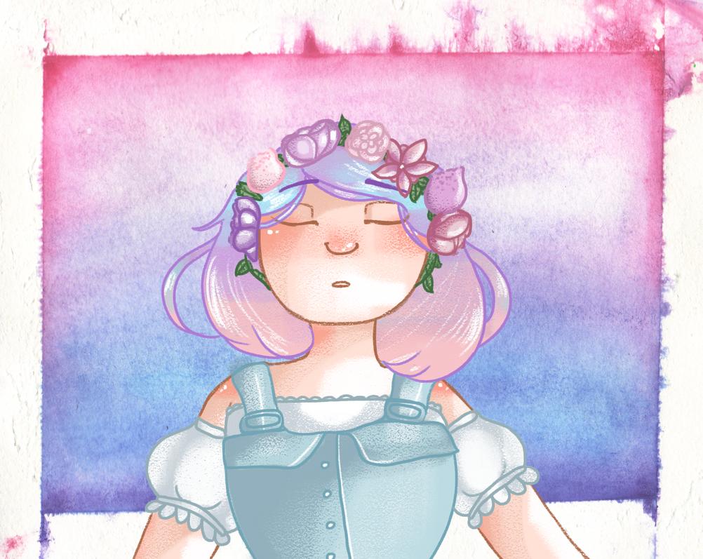Flower Crown by ferretlivvie