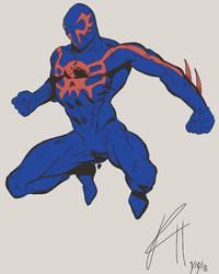 spiderman 2099 by TheNerd318