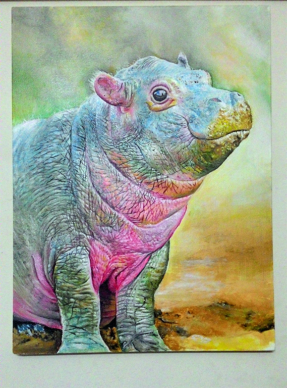 Baby Hippo by TheComicArtist