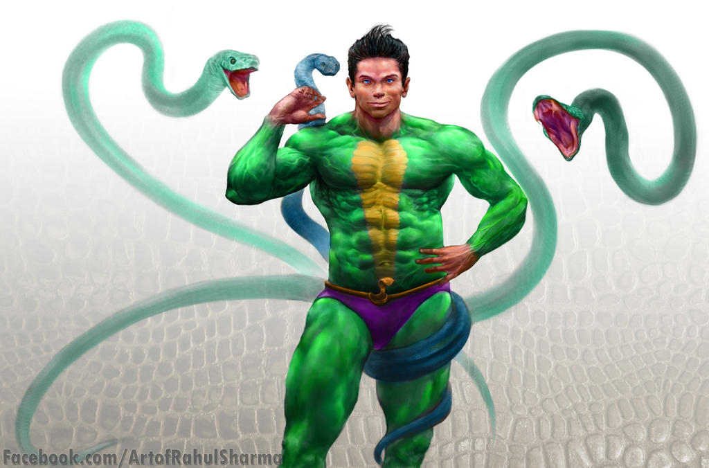 Nagraj/ Snake king , by TheComicArtist