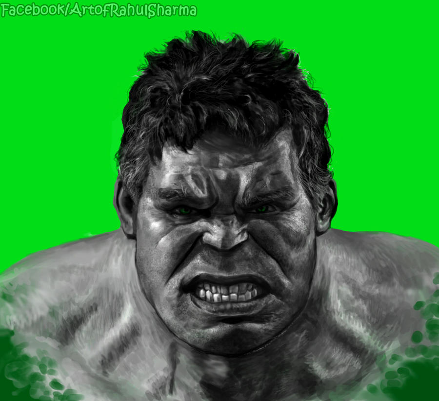 Hulk ! by TheComicArtist