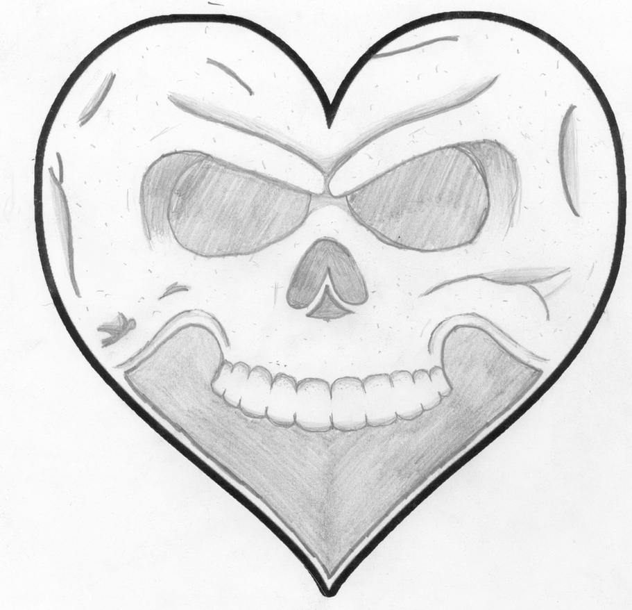 Alexisonfire - Skull Heart by The-Dead-Poetic on DeviantArt