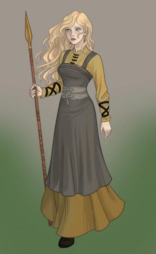 Katla Gislidottir by Venom42