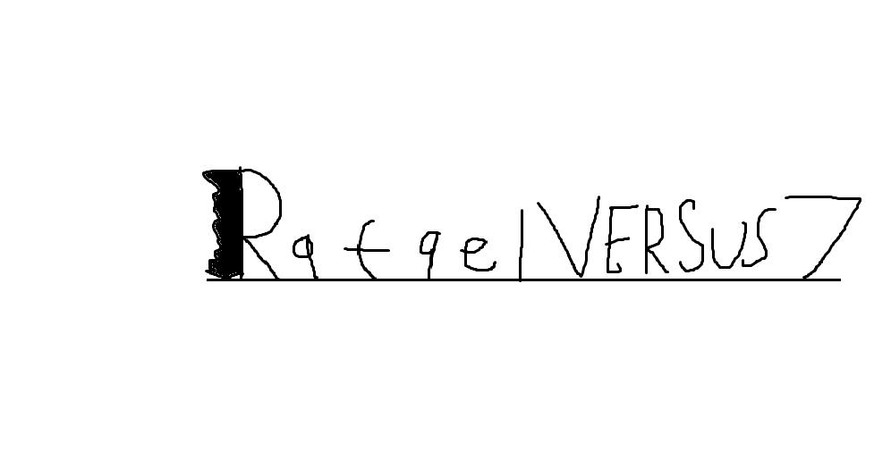 Rafael Versus 7 Logo by Rafie1998
