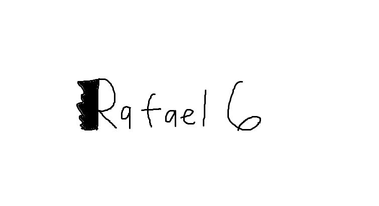 Rafael 6 Logo by Rafie1998