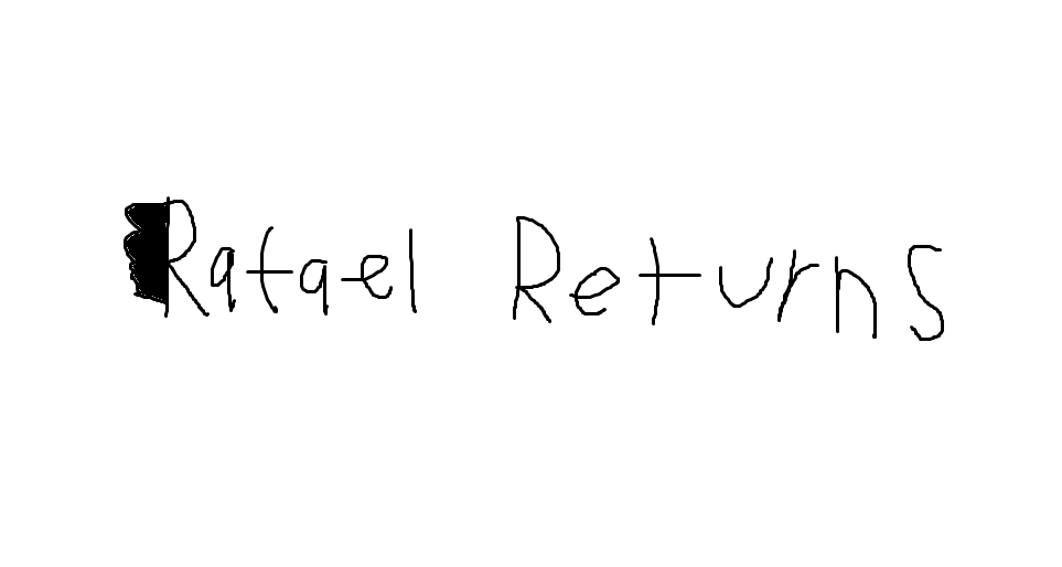 Rafael Returns Logo by Rafie1998