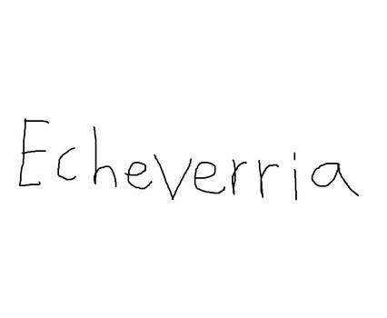 Echeverria Logo Early