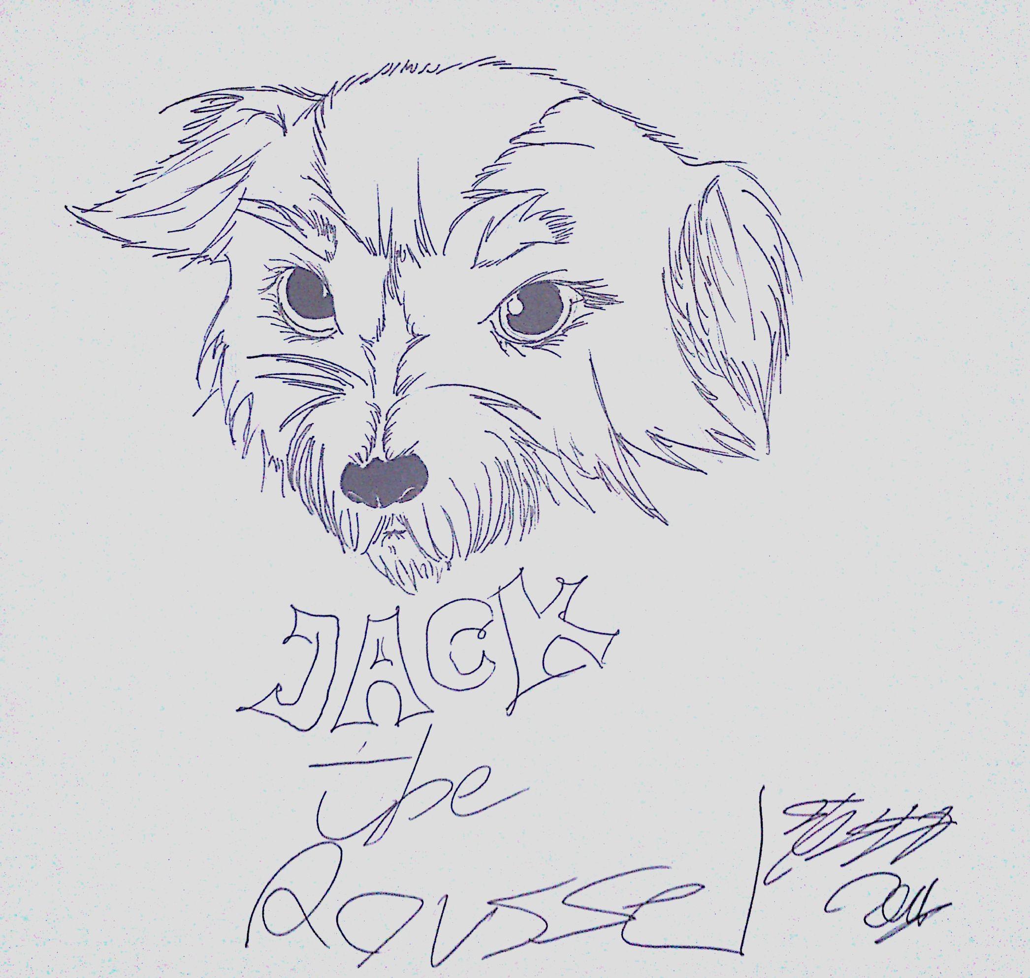 Line Art Reddit : My dog jack line art by theblendlostdog on deviantart