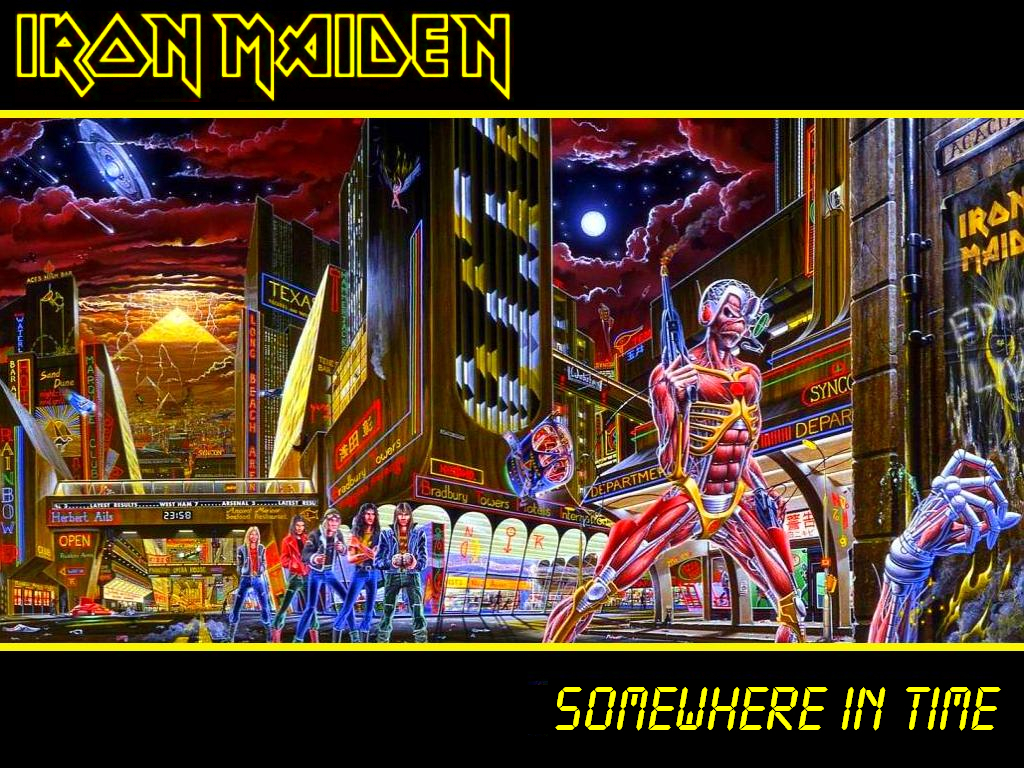 Somewhere In Time By Ironmaiden2013 On Deviantart