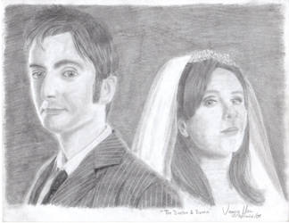 The Doctor and Donna by Squint-in-the-Tardis