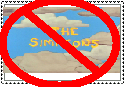 anti simpsons stamp by Bjnix248