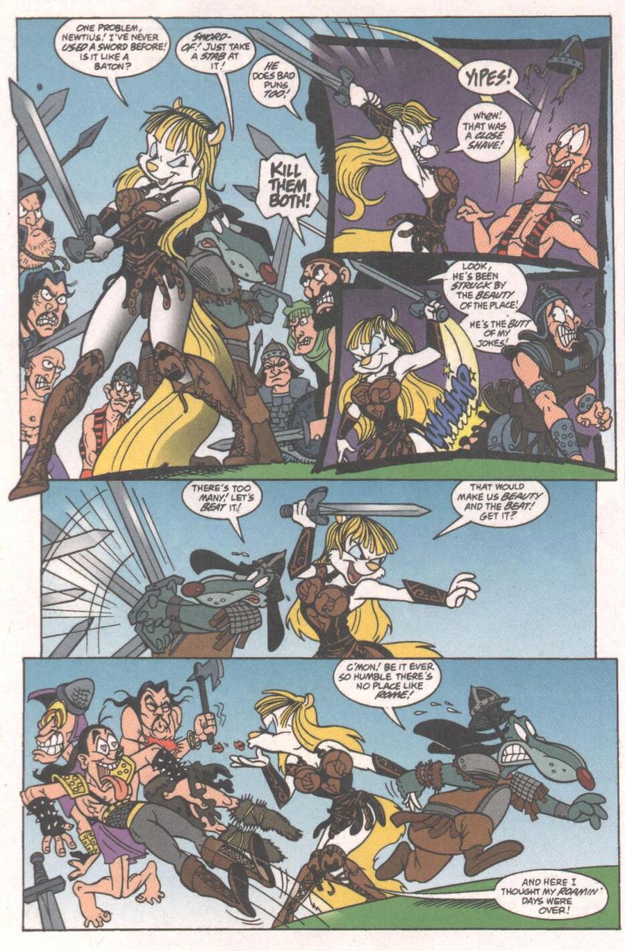 Minerva Mink comic pg 11 by Bjnix248