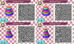 Rainbow Dress QR Code