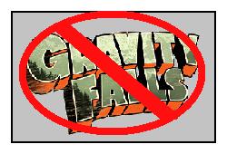Anti Gravity Fall Stamp by Bjnix248