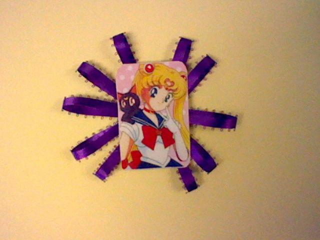 Sailor Moon Brooch by Bjnix248