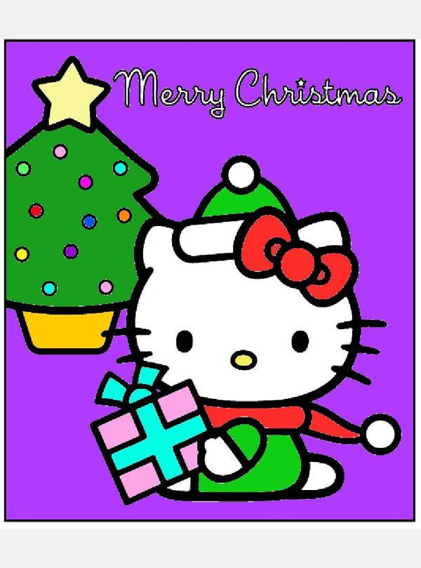 Hello Kitty Merry Christmas.Hello Kitty Merry Christmas By Bjnix248 On Deviantart