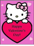 A Hello Kitty Valentine's Day