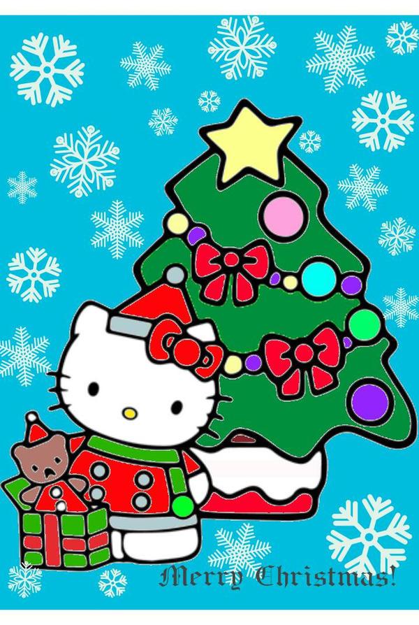 Merry Christmas To You.Merry Christmas To You From Hello Kitty By Bjnix248 On