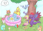 Mana Monster Pool Party