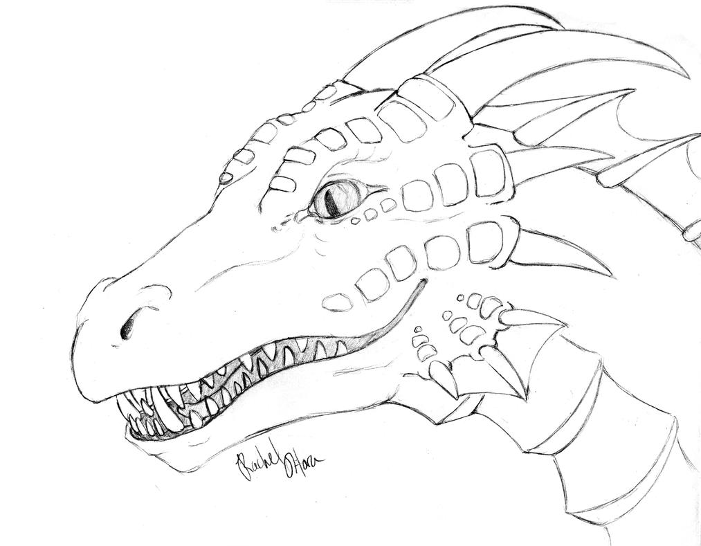 detailed dragon coloring pages - photo #2